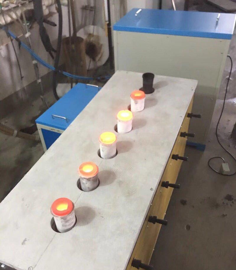 多炉贵重金属熔炼
